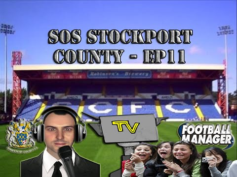 S.O.S. Stockport County EP11 - Smile your on TV - Live from Edgeley Park - Football Manager 2016 (видео)