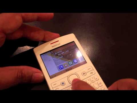 Nokia Asha 205 Hands-On