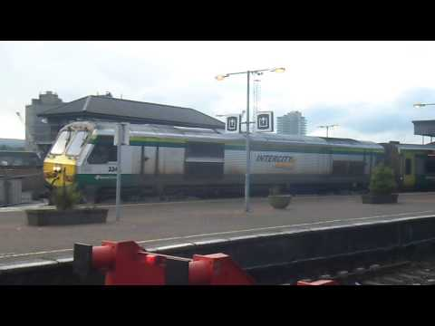 Class 224 - THIS IS MY 100TH VIDEO!!!!!!!!!!!!!!!!!!!!!!!!!!!!!!!!!!!!!!!!!!!!!!!!!!!!!!!!!!!!!!!!!!!!!!!!!!!!!!!!!!!! Irish Rail 224 arriving into Kent with the Mark 4'...