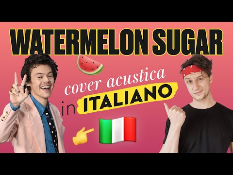 WATERMELON SUGAR 🍉 in ITALIANO 🇮🇹 Harry Styles cover видео