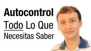 Video: Autocontrol – Todo Lo Que Necesitas Saber