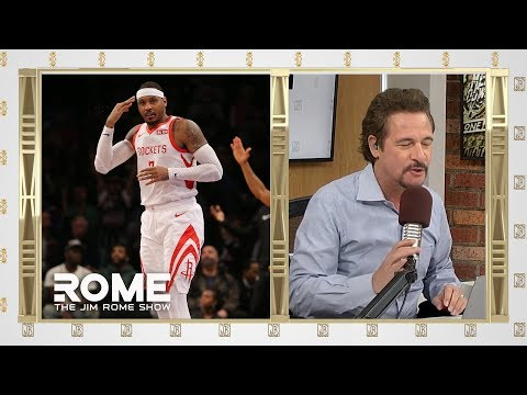 Video: Melo is done | The Jim Rome Show
