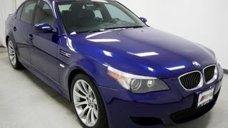 2009 BMW 5-Series M5 E60 500-hp V10 6-Speed Review EMG Auto Sales