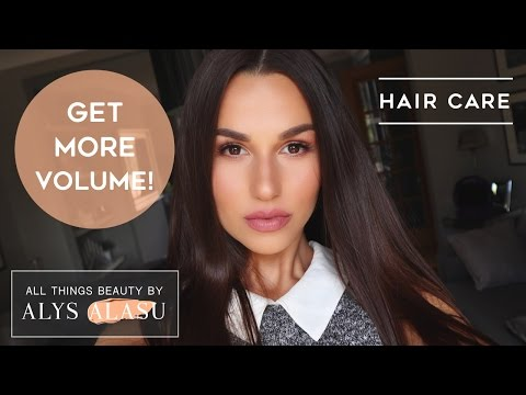 The best VOLUMIZING SHAMPOO and CONDITIONER for EXTRA VOLUME + TIPS & TRICKS . HAIR CARE