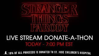 DONATE TO HELP US MAKE STRANGER THINGS PARODY 👇🏻http://www.Patreon.com/HillywoodCreators of The Hillywood Show®, Hilly and Hannah Hindi talk about how YOU can help them make their next parody: STRANGER THINGS PARODY! 🙏10% of all proceeds will be given to St. Jude Children's Research Hospital. ❤️_____________________FOLLOW THE HILLYWOOD SHOW ⭐️Subscribe: http://www.youtube.com/subscription_center?add_user=JckSparrowWebsite: http://www.TheHillywoodShow.comMerchandise: http://www.ShopHillywood.comTwitter: http://www.Twitter.com/HillywoodShowFacebook: http://www.Facebook.com/TheHillywoodShowTumblr: http://www.TheHillywoodShow.Tumblr.comInstagram: http://www.Instagram.com/TheHillywoodShowE-mail For Business/Press Inquiries: TheHillywoodShow@aol.com_____________________FOLLOW HILLY ⭐️Twitter: http://www.Twitter.com/HillyHindiFacebook: http://www.Facebook.com/HillyHindiOfficialInstagram: http://www.Instagram.com/HillyHindiTumblr: http://www.HillyHindi.Tumblr.comSnapchat: HillyHindi______________________FOLLOW HANNAH ⭐️Twitter: http://www.Twitter.com/HannahHindiFacebook: https://www.facebook.com/pages/Hannah-Hindi-The-Official-Page/102206209819456?fref=tsInstagram: http://www.Instagram.com/HannahHindiOfficialTumblr: http://www.HannahHindi.Tumblr.com______________________MUSIC:https://www.youtube.com/user/BrokenEleganceMusicFont by http://www.AbouthRandyOrton.Deviantart.com