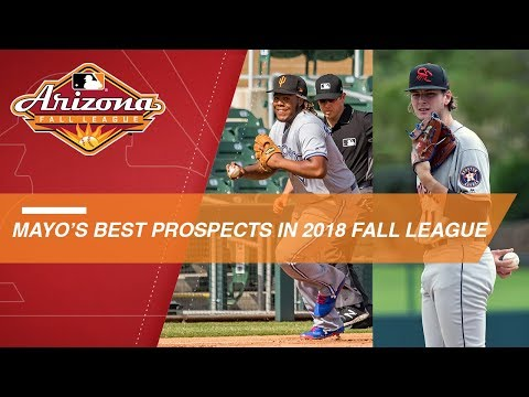 Video: Mayo picks his best prospects in 2018 Arizona Fall League