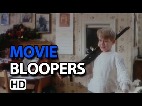 Home Alone (1990) Bloopers Outtakes Gag Reel