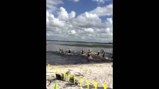 USAT Draft-Legal Sprint Triathlon (Clermont, Florida) - Start