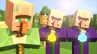 Video Villager & Witch Life 1 - Minecraft Animation MP3, 3GP, MP4, WEBM, AVI, FLV Agustus 2018