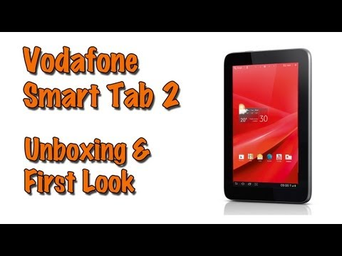 Vodafone Smart Tab II – Unboxing & First Look