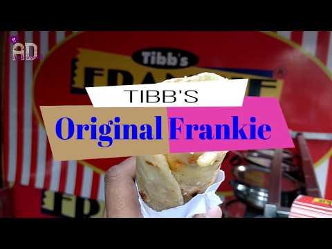 Mumbai street food ! Tibb's Frankie Mumbai ! Original Frankie ! What to eat in  Mumbai