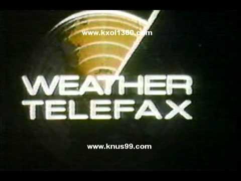 WBAP KXAS TV Weather Telefax 1973 Harold Taft