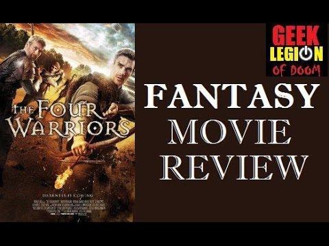 THE FOUR WARRIORS ( 2015 Christopher Dane )  Fantasy Movie Review