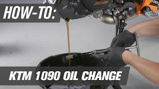 9. How To Change The Oil On A KTM 1090 ADV R