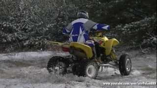 9. #2 Suzuki LTZ 400 Winter Time ATV Zima Śnieg Quad Quadsport Z400