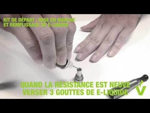 comment remplir liquide cigarette electronique