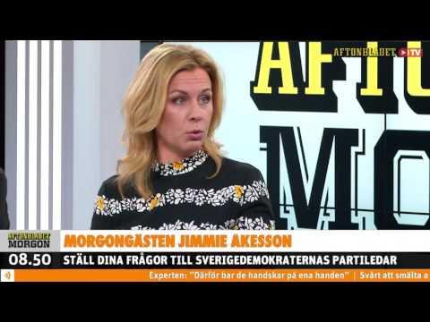 Aftonbladet TV - Morgongästen Jimmie Åkesson (SD) (2016.03.23)