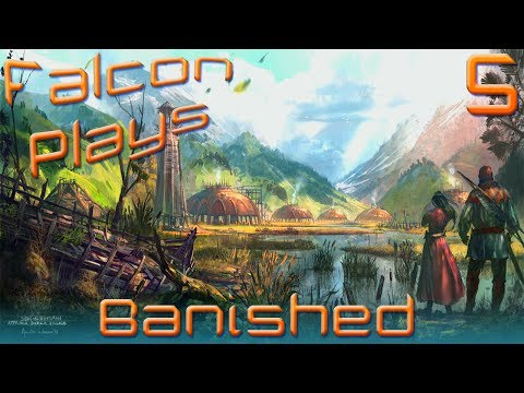 Falcon's Let's Play Banished Gameplay Part 5 [Provide Beer. Develop Drinking Problem]