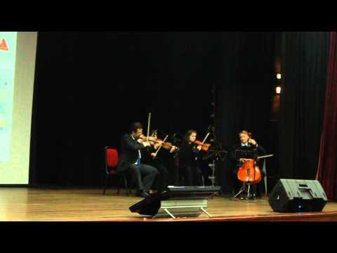 Cinpar Unisinos-Quarteto de Cordas-Bittersweet Symphony-The Verve