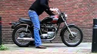 8. The Triumph Bonneville T120 R 650 cc US spec