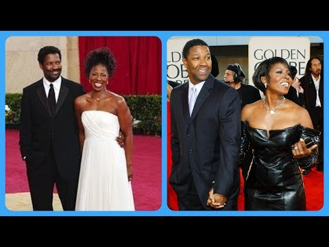 Pauletta Washington And Denzel Washington- Beautiful Moments.