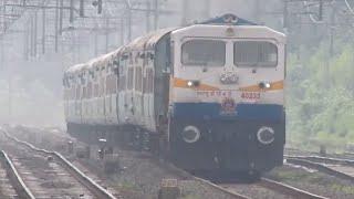 Jalna India  city photo : INDIAN RAILWAY:KALYAN WDP4D #40233 With 12071 DADAR-JALNA JANSHATABDI EXPRESS