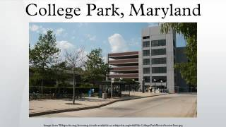 College Park (MD) United States  City new picture : College Park, Maryland