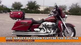 10. Used 2005 Harley Davidson CVO Electra Glide Classic Motorcycles for sale