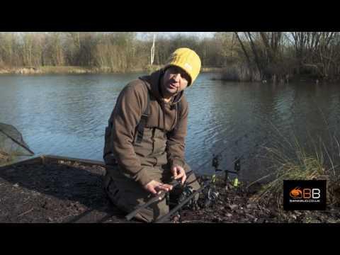 BANK BUG ROCK STEADY BACK REST SYSTEM V2 - IAN RUSSELL REVIEW_Horgászat videók