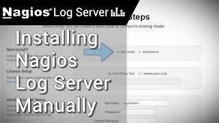 Manually Installing Nagios Log Server
