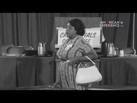 Fannie Lou Hamer's incredible speech.