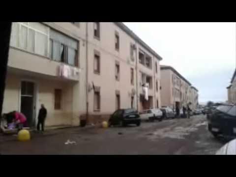 La città di Olbia ferita dal ciclone