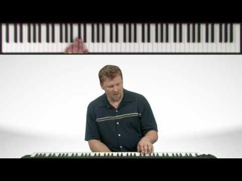 A Major Piano Scale