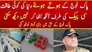 Pakistan Army Protect CPEC Said Qamar Zaman Kaira | China Pakistan Economic Corridor Benefits 2017