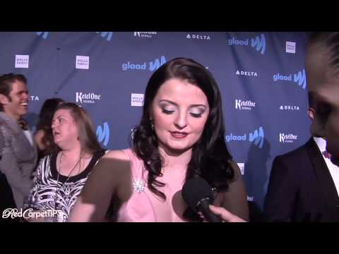 Dakota Hood from 'The Hunger Games' Stuns on the Red Carpet at the 24th Annual GLAAD Awards