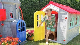 Ali Pretend Play with Playhouse for kids