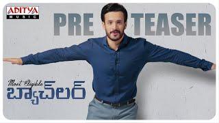 #MostEligibleBachelor Pre Teaser | Akhil Akkineni,Pooja Hegde | Sid Sriram|Gopi Sunder