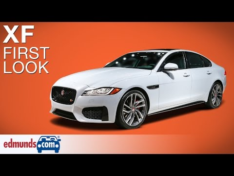 jaguar xf - new york international auto show