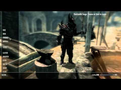 Skyrim Sauron armor + Star wars weapons + Guns + Nude Females Mods