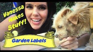 Vanessa Makes Garden Labels