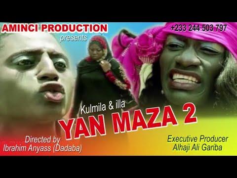 YAN MAZA 2 😂🤣😂🤣😂🤣  Ghana Hausa Movie With English Subtitle
