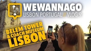 SUBSCRIBE TO WEWANNAGO TV: http://bit.ly/1FxiVp2 INSTAGRAM: https://www.instagram.com/wewannago.tv/TWITTER: https://twitter.com/chris_welzelWe Wanna Go around the world! In vlog #10, we visit the National Coach Museum (Museu Nacional dos Coches). There, you can find an amazing collection of original vehicles used to transport royalty since the 16th century. Immaculately restored, these coaches are up close and on display.Then, we make our way towards Lisbon's finest UNESCO World Heritage Site, Belem Tower (Torre de Belém). This military structure has been guarding since the 1500's and stands proud today as a museum and monument on the Lisbon waterfront.Thanks for watching WeWannaGo TV,Christiaan & Kseniya Welzelhttp://www.wewannago.tvFilmed with a GoPro Hero4, Feiyu G4 gimbal and sony rx10 II
