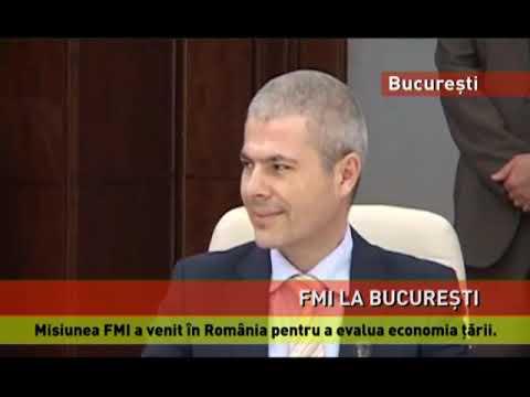 Delegația FMI, la București