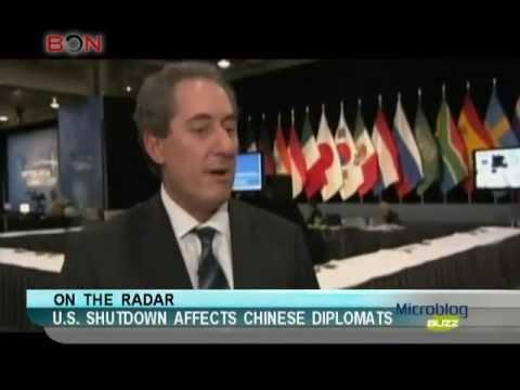 U.S. shutdown affects Chinese diplomats-Microblog Buzz -October 17,2013 - BONTV China