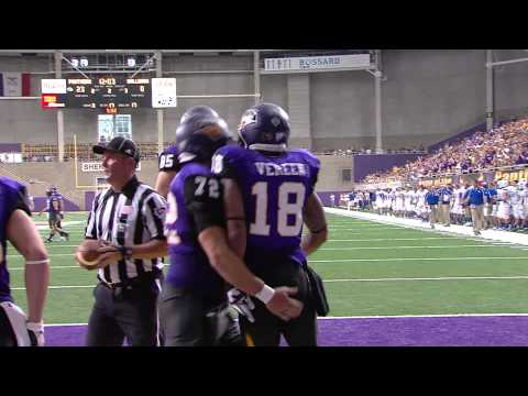 Kevin Vereen Jr. touchdown catch vs Drake 2013 video.