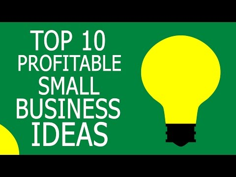 Top 10 Profitable Small Business Ideas with Small Capital
