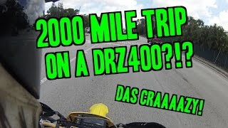 7. 2000+ miles on a DRZ?!?