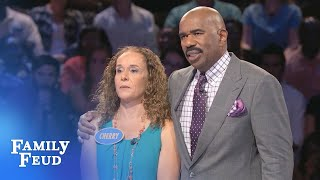 Video WOW! Watch this FAST MONEY! | Family Feud MP3, 3GP, MP4, WEBM, AVI, FLV Maret 2019
