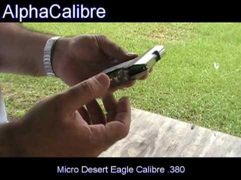 Micro Desert Eagle Calibre .380 - Pistola Sub-Compacta de Bolsillo