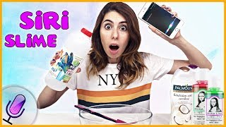 Siri Slime Challenge Kötü Malzemeli Slaym Eğlenceli Çocuk Videosu Dila Kent